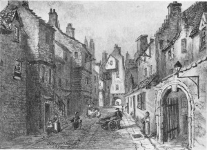 Bakehouse Close, 1870, Jane Stewart Smith