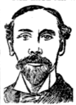 Whaley Bouchier Nutt - sketch published after his death in 1895