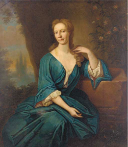 Anna Seton, wife of William Dick