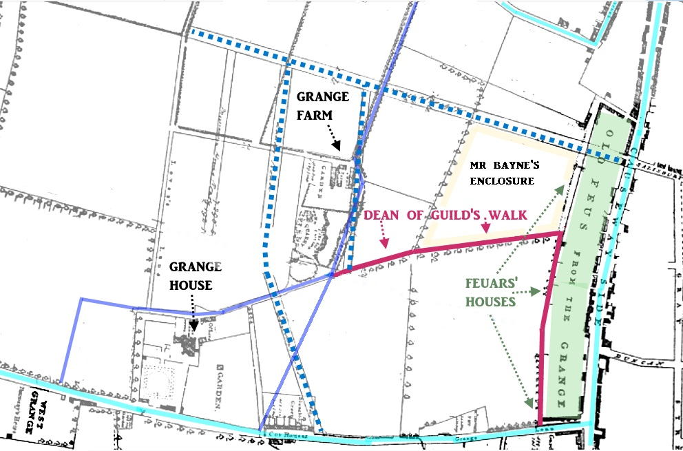 Grangegateside map