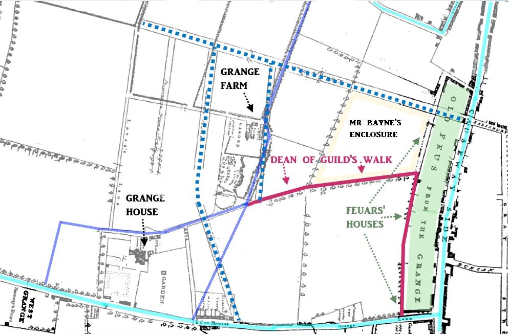 Grangegateside map