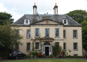 Drylaw House today, 180 years after John Mackenzie was gardener there.