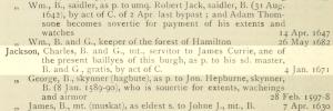 Charles jackson merchant burgess