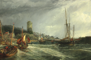Dysart Harbour the year after Helen was born. In 1861 her family lived a few hundred yards away, in Quality Street.